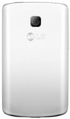 Смартфон LG E420 Optimus L1 II Dual (White) - задняя панель