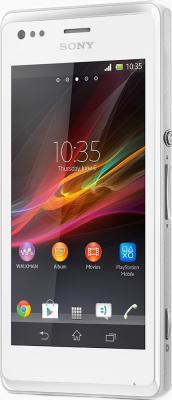 Смартфон Sony Xperia M Dual (C2005) (White) - общий вид