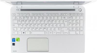 Ноутбук Toshiba Satellite L50-A-M2W - вид сверху