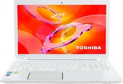 Ноутбук Toshiba Satellite L50-A-M2W - фронтальный вид