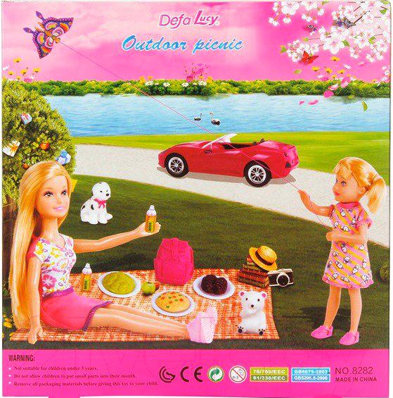 Лялька з аксэсуарамі Defa
