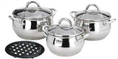 Набор кухонной посуды Calve CL-1068 - общий вид