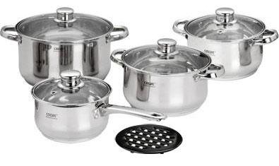 Набор кухонной посуды Calve CL-1062 - общий вид