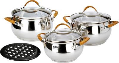 Набор кухонной посуды Calve CL-1800 - общий вид