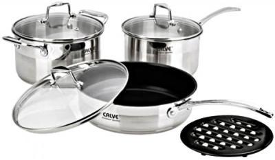 Набор кухонной посуды Calve CL-1089 - общий вид