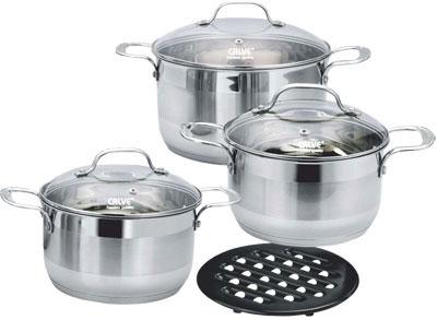 Набор кухонной посуды Calve CL-1052 - общий вид