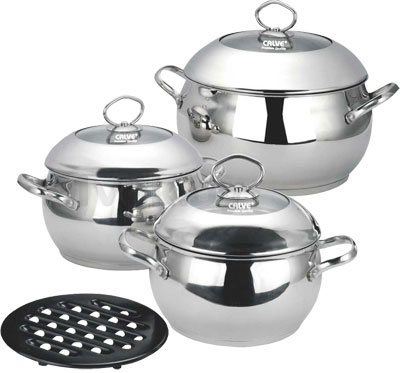Набор кухонной посуды Calve CL-1051 - общий вид