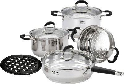 Набор кухонной посуды Calve CL-1809 - общий вид