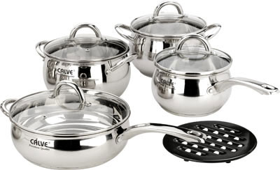 Набор кухонной посуды Calve CL-1069 - общий вид