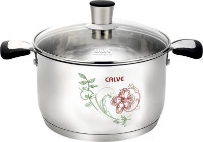 Набор кухонной посуды Calve CL-1847 - цвет рисунка при нагреве посуды