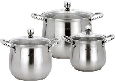 Набор кухонной посуды Calve CL-4136 - общий вид