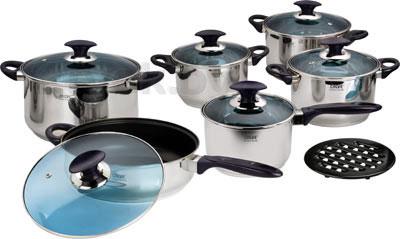 Набор кухонной посуды Calve CL-1057 - общий вид