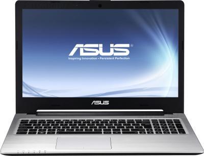 Ноутбук Asus K56CB (90NB0151-M04470) - фронтальный вид