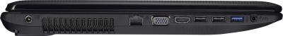 Ноутбук Asus X75VC (90NB0241-M02490) - вид сбоку