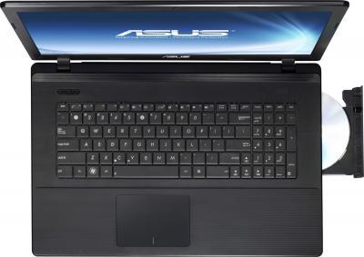 Ноутбук Asus X75VC (90NB0241-M02490) - вид сверху