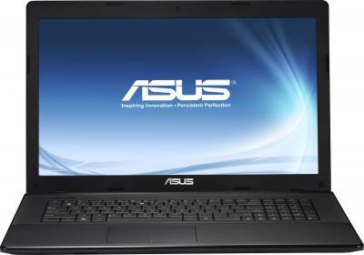 Ноутбук Asus X75VC (90NB0241-M02490) - фронтальный вид