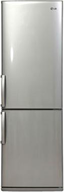 Холодильник с морозильником LG GA-B379ULCA - вид спереди