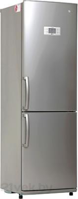 Холодильник с морозильником LG GA-B409UMQA - общий вид