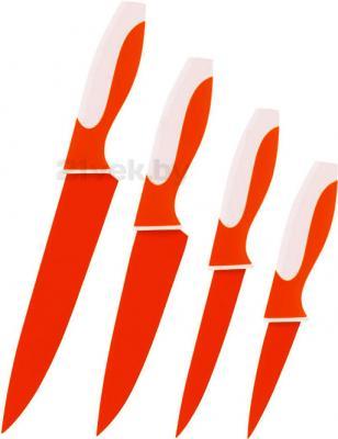 Набор ножей Calve CL-3108 - в красном цвете