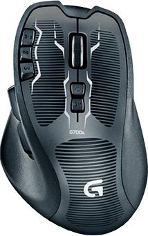 Мышь Logitech G700s (910-003424) - вид сверху