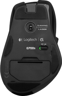 Мышь Logitech G700s (910-003424) - вид снизу