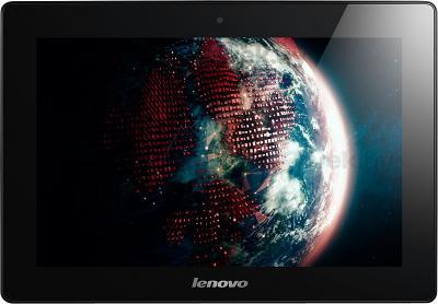 Планшет Lenovo IdeaTab S6000 (16GB, 3G, Black) - фронтальный вид