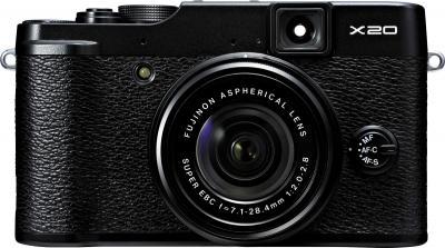 Компактный фотоаппарат Fujifilm FinePix X20 (Black) - общий вид