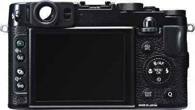 Компактный фотоаппарат Fujifilm FinePix X20 (Black) - вид сзади