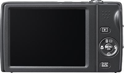 Компактный фотоаппарат Fujifilm FinePix T550 (Red) - вид сзади