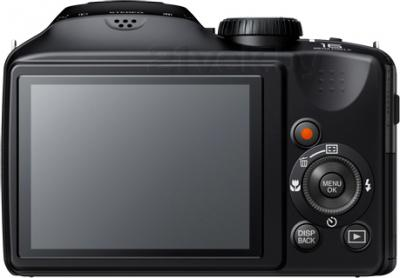 Компактный фотоаппарат Fujifilm FinePix S6800 (Black) - вид сзади