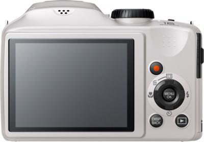 Компактный фотоаппарат Fujifilm FinePix S4800 (White) - вид сзади