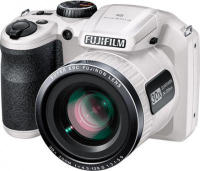 Компактный фотоаппарат Fujifilm FinePix S4800 (White) - общий вид