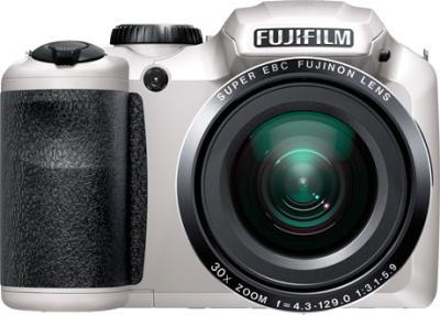 Компактный фотоаппарат Fujifilm FinePix S4800 (White) - вид спереди
