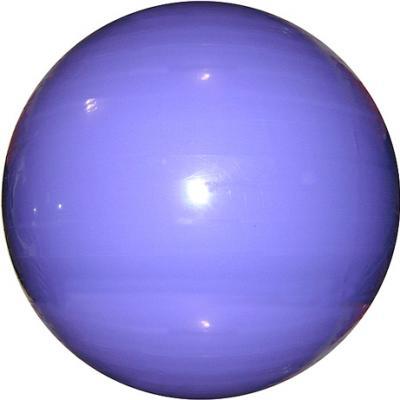 Фитбол гладкий Cosmic GB01 (фиолетовый) - общий вид