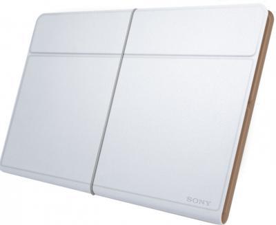 Чехол для планшета Sony SGP-CV5 (белый) - общий вид