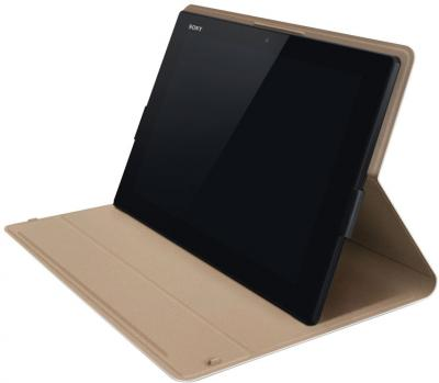 Чехол для планшета Sony SGP-CV5 (белый) - в среднем положении