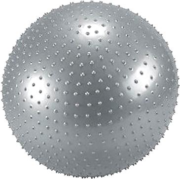 Фитбол массажный Cosmic GB02 (серебристый) - общий вид