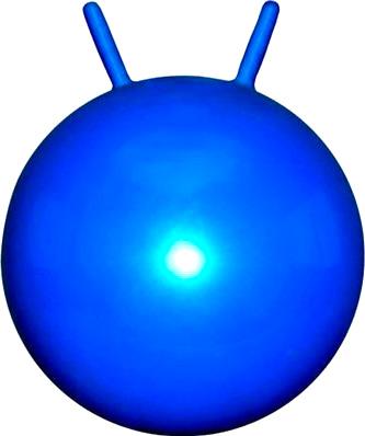 Фитбол с рожками Cosmic GB03 (голубой) - общий вид