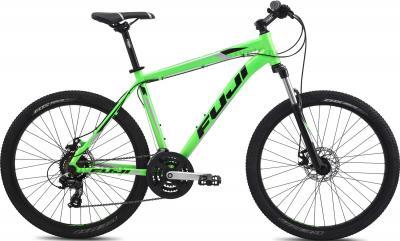 Велосипед Fuji Nevada 1.9 Disc (15, Green, 2014) - общий вид