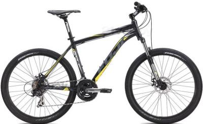 Велосипед Fuji Nevada 1.9 Disc (17, Black, 2014) - общий вид