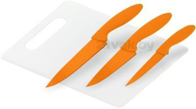 Набор ножей Calve CL-3103 - в оранжевом цвете