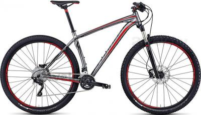 Велосипед Specialized Crave Expert 29 (M, Silver-Black-Red, 2014) - общий вид