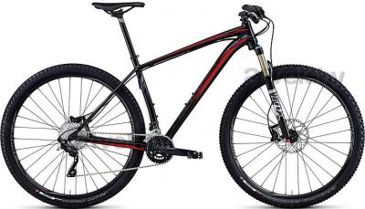 Велосипед Specialized Crave Pro 29 (L, Black-Rocket Red, 2014) - общий вид