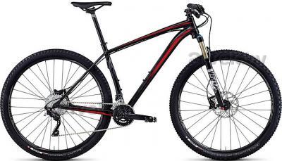 Велосипед Specialized Crave Pro 29 (M, Black-Rocket Red, 2014) - общий вид