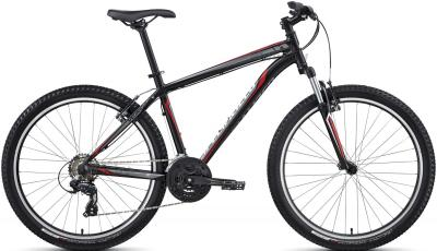 Велосипед Specialized HardRock 29 (XL, Black-Red-White, 2014) - общий вид