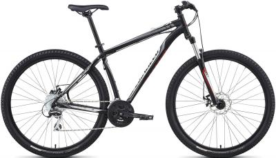Велосипед Specialized Hardrock Disc 29 (S, Black-Silver-Red, 2014) - общий вид