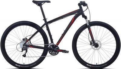 Велосипед Specialized Hardrock Sport Disc 29 (XXL/23, Black-Red, 2013) - общий вид
