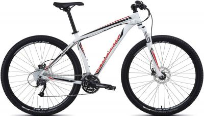 Велосипед Specialized Hardrock Sport Disc 29 (M, Red-White, 2014) - общий вид