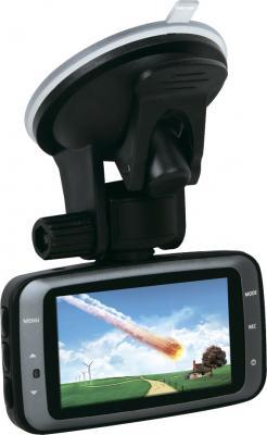 Автомобильный видеорегистратор IconBIT DVR FHD QX1 - дисплей