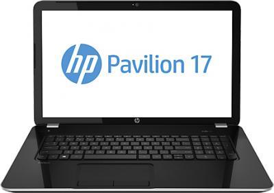 Ноутбук HP Pavilion 17-e025sr (E3Z50EA) - фронтальный вид
